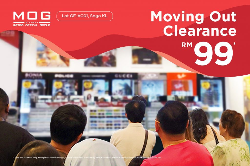 Moving Out Clearance