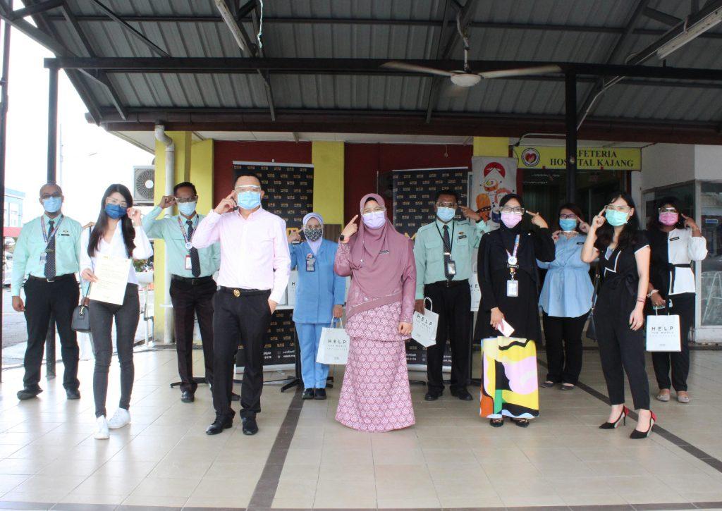 Group photo at Hospital Kajang